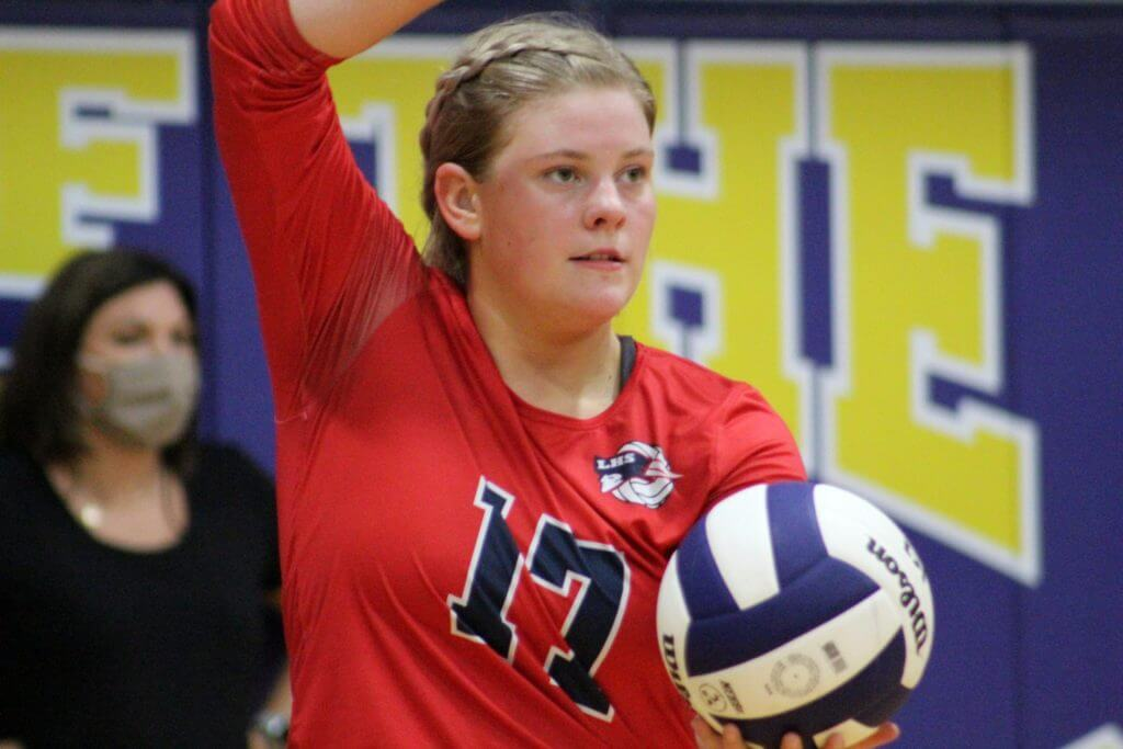 Cedarburg named Lee County Volleyball Player of the Week