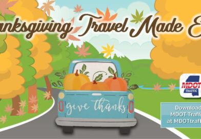 MDOT urges alert Thanksgiving weekend travel