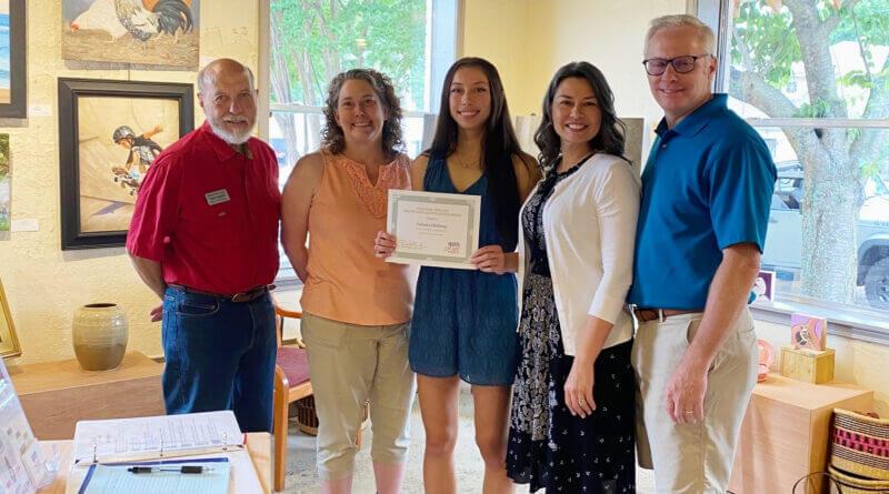 Ohrberg wins Arts Council scholarship